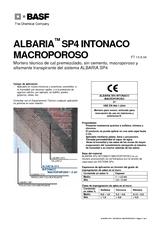 Albaria SP4 Intonaco Macroporoso