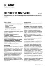 Bentofix NSP 4900