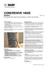 Concresive 1002E