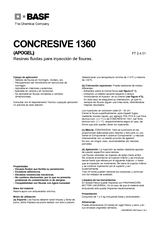 Concresive 1360