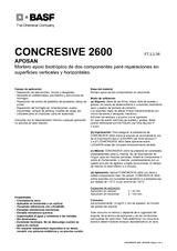 Concresive 2600