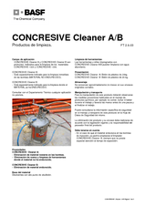 Concresive Cleaner A-B