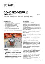 Concresive PU 20