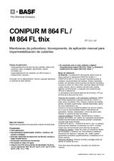Conipur M 864 FL - M 864 Thix