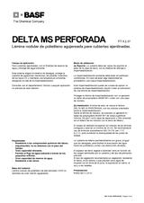 Delta MS 20 Perforada