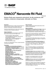 Emaco Nanocrete R4 Fluid
