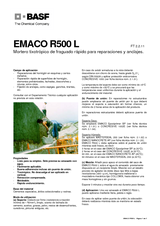 Emaco R500 L