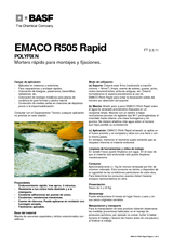 Emaco R 505 Rapid