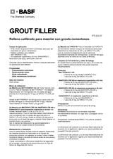 Grout Filler