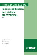 Impermeabilización con sistema Masterseal