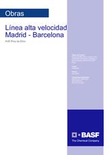 Línea Alta Velocidad Madrid - Barcelona