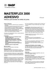 Masterflex 3000 Adhesivo