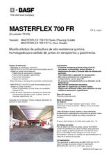 Masterflex 700 FR Fluido - Tixotrópico