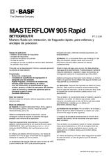 Masterflow 905 Rapid