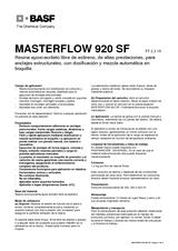 Masterflow 920 SF