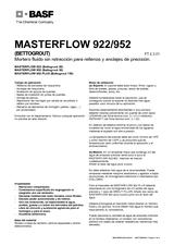 Masterflow 922-952-952 Plus