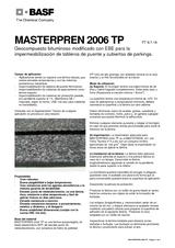 Masterpren 2006 TP