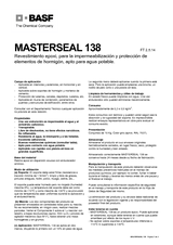 Masterseal 138