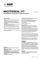 Masterseal 317
