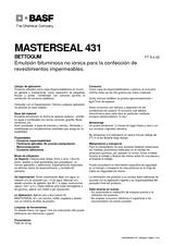 Masterseal 431 (Bettogum)
