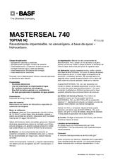 Masterseal 740 (Toptar)