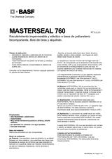 Masterseal 760