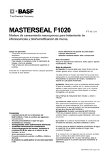 Masterseal F1020