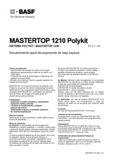 Mastertop 1210 Polykit