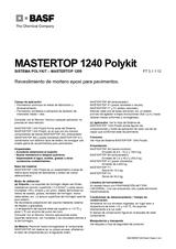 Mastertop 1240 Polykit