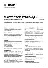 Mastertop 1710 Polykit