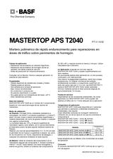 Mastertop APS T2040