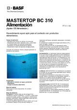Mastertop BC 310 Alimentación