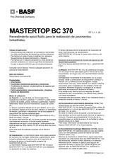 Mastertop BC 370