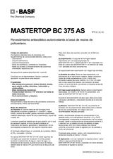 Mastertop BC 375 AS