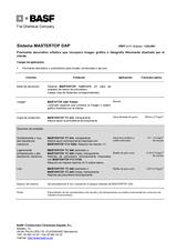 Mastertop DAP