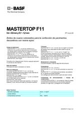 Mastertop F11