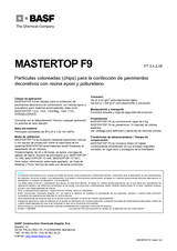 Mastertop F9