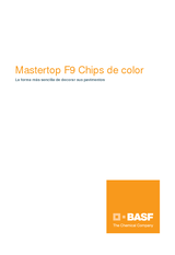 Mastertop F9 chips de color