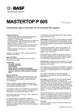 Mastertop P 605