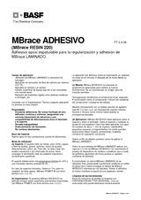 MBrace® Adhesivo