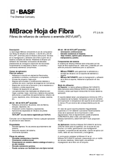 MBrace Hoja de Fibra