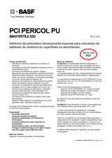 PCI Pericol PU (Mastertile 222)