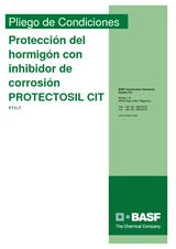 Protección del hormigón con inhibidor de corrosión Protectosil CIT