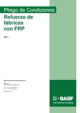 Refuerzo de fábricas con FRP