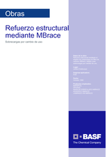 Refuerzo Estructural Mediante MBrace