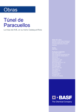 Túnel de Paracuellos Línea AVE