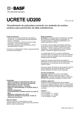 Ucrete UD 200 Polykit