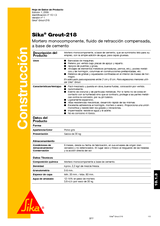 Sika Grout 218