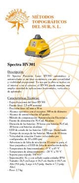 Autonivelante HV301 (con detector)