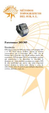 Forerunner 205